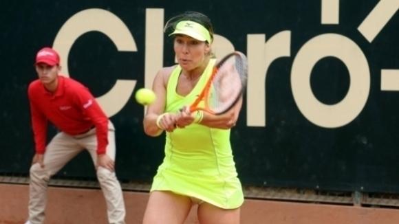 Костова отпадна на полуфиналите на двойки във Франция