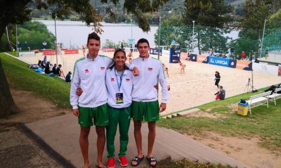 Страхотна втора победа за Костов и Янев на Европейското по плажен волейбол U20