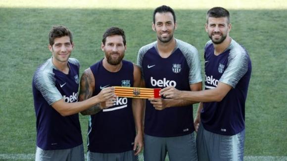 Бунтът на Лео Меси не промени статута му в клуба