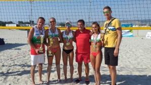 Варна и София шампиони по плажен волейбол при мъжете и жените (снимки)