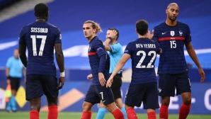 Франция удари Хърватия в повторението на финала от Мондиал 2018 (видео)