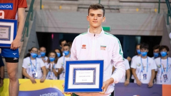 Георги Татаров е най-добър диагонал на Евроволей U18 (видео + снимки)
