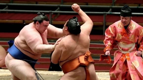 Аоияма с първа победа на Големия есенен турнир по сумо