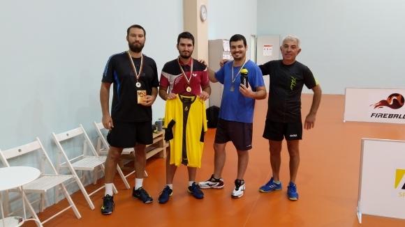 Михаил Михайлов е победител в първия турнир от веригата Fireball Table Tennis
