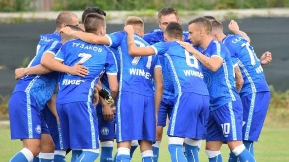 Черноморец спечели регионалното дерби с Несебър и продължава борбата за Втора лига
