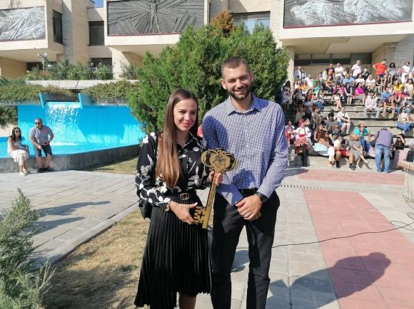 Павел Маринов присъства на откриването на академичната година в Стара Загора
