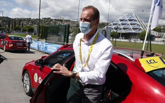 """Директорът на """"Тур дьо Франс"""" Кристиан Прюдом се завръща на състезанието след отрицателен тест за коронавирус"""