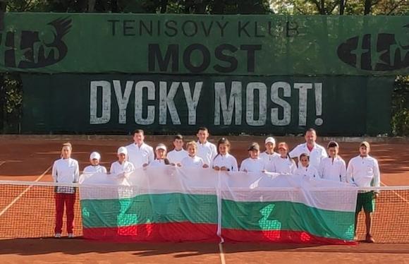 Силен старт за националните отбори до 12 и 14 г. на European Nations Junior Tennis Trophy 2020