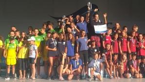 """ПСК Черно море спечели лагер за цял тим на турнира """"Плувни таланти"""""""