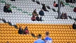 Ирландия връща част от феновете на спортни събития