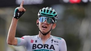 "Ленард Кемна най-накрая постигна етапна победа на ""Тур дьо Франс"""