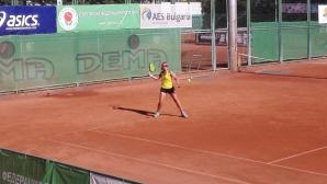 Михайлов и Глушкова са полуфиналисти на турнир от ITF в София