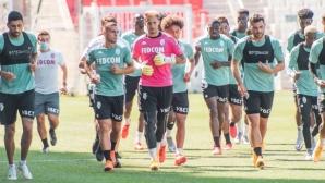 Футболист на Монако е заразен с коронавирус