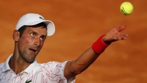 Джокович се пребори с Крайнович и достигна до 1/4-финалите в Рим