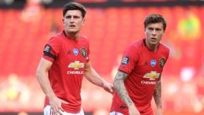 Невил: Юнайтед няма шанс за титла с Линдельоф и Магуайър