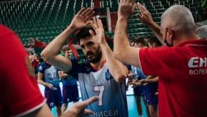Тодор Скримов и Енисей загубиха от Югра-Самотлор, но продължават към полуфиналите на Купата на Русия