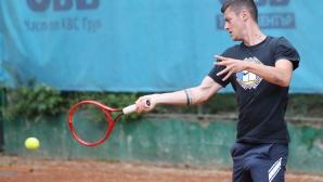 """Лазаров загуби финалния мач в квалификациите за """"Чалънджър""""-а в Румъния"""