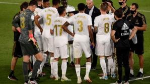 Реал Мадрид принуден да сменя самолети заради технически проблем