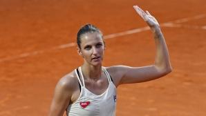 Шампионката Плишкова отново е на финала в Рим
