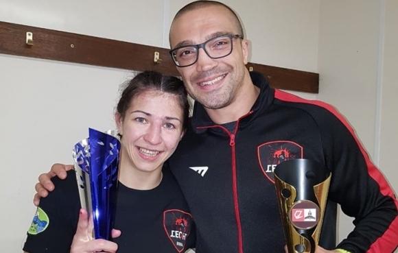 Александра Тончева: Горда съм, че съм първата българка в Bellator