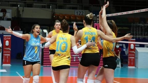Отлични Емилия Димитрова и Христина Вучкова, ПТТ без шанс срещу Фенербахче в Турция (снимки)