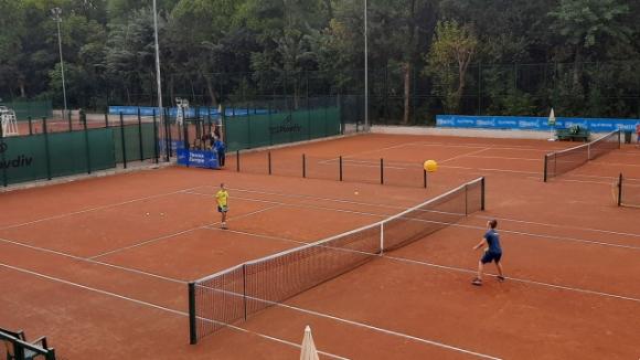 100 деца откриха тенис комплекса на Младежкия - новото спортно бижу на Пловдив (видео+снимки)