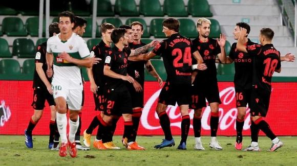 Реал Сосиедад с първа победа