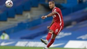 Тиаго Алкантара подобри рекорд във Висшата лига само с едно полувреме