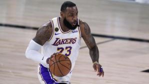 ЛеБрон изпревари Дънкан в класацията за плейофни мачове в НБА