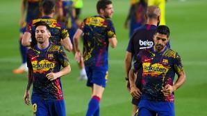 Суарес и днес тренира с каталунците