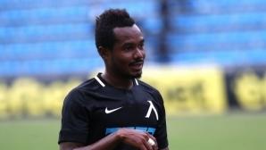 Медиите в Гана в еуфория от футболист на Левски