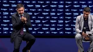 Президентът: Благодаря на Луис, че навремето избра Барса с огромна страст