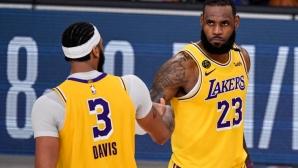 Лейкърс отново победи и е на успех от финала в НБА (видео)