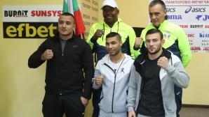 Боксът тръгва за 4 олимпийски квоти, двама кубинци подсилват отбора (видео + галерия)