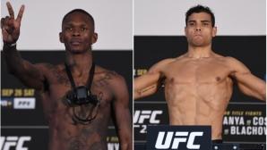 Коста по-тежък от Адесаня на кантара преди UFC 253