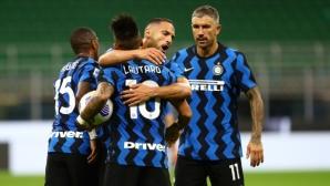 Непримирим Интер изтръгна победата в луд мач с Фиорентина (видео)