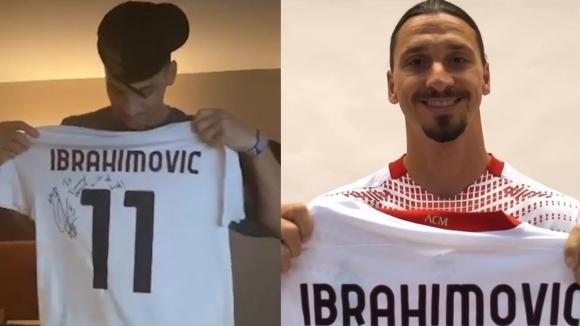 Двукратен шампион от НБА получи специален подарък от Ибра и Милан