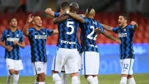 Беневенто 0:3 Интер, Лукаку с два гола (на живо)