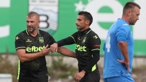 Общо 8 гола си размениха ветераните на Витоша (Бистрица) и Левски (галерия+видео)