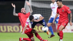 Хайдук пропусна дузпа в 100-ата минута и загуби (видео)