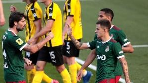 Локомотив (Москва) взе трета поредна победа (видео)