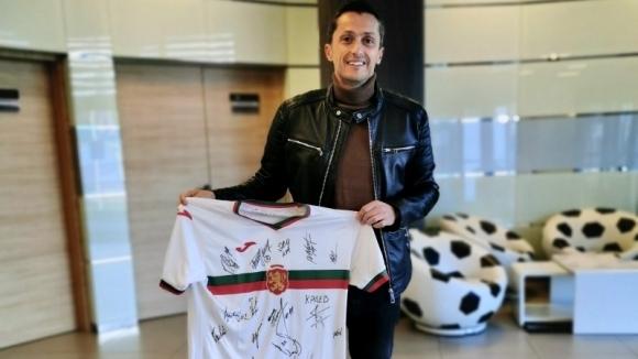 Българските национали подкрепиха благотворителната кампания на Христо Янев