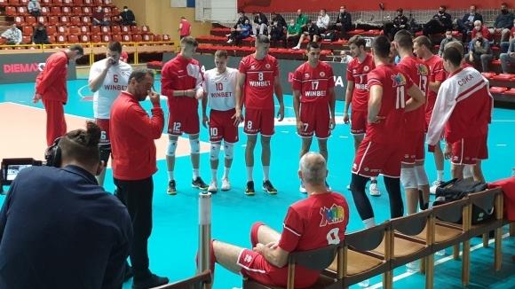 ЦСКА тръгна с драматична победа над Дунав в Бургас (снимки)