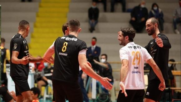 Силни Казийски и Аспарухов, Верона с трета загуба в Италия (видео + галерия)