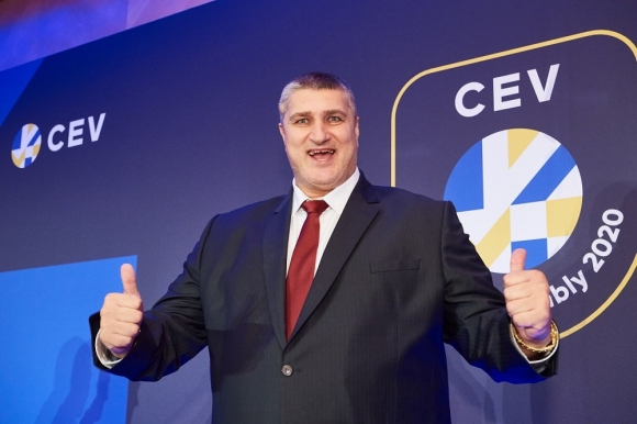 Любо Ганев бе избран първи в борда на CEV
