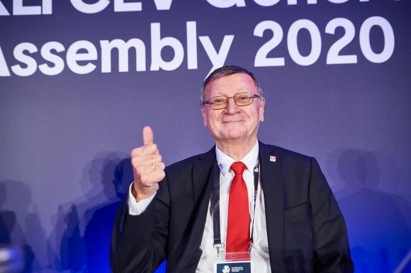 Александър Боричич беше преизбран за нов мандат като президент на CEV