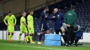 Ранен гол остави Шотландия на върха (видео)
