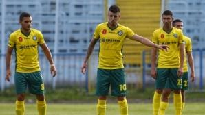 Добруджа спря лидера на Втора лига, но изпусна победата в 94-ата минута