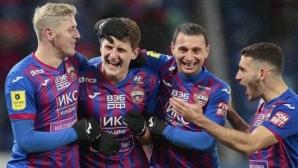 ЦСКА срази Динамо и продължава да гони водачите (видео)