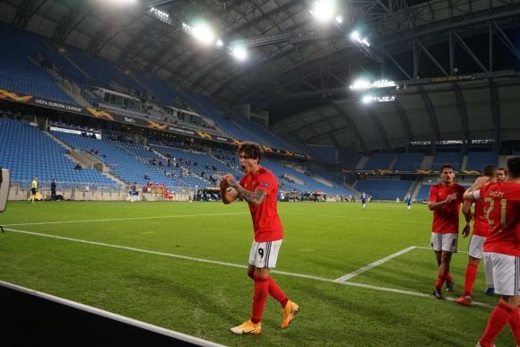 Бенфика сломи Лех след шоу с шест гола в Познан (видео)